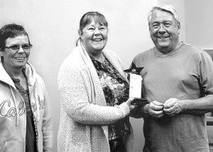 "McLennan ""Volunteer of the Year Award"" presented to Gilbert and Theresa Demeule"