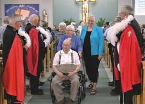 Thirty-two Sisters of the Holy Cross participate in Falher's centennial celebrations