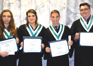 Marvyn Dupuis Foundation Scholarship 2019 recipients
