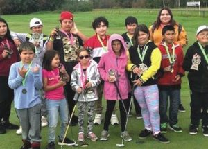 "Kids loved every minute of the LSLIRC ""Youth Golf Tournament"""