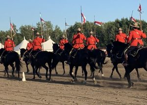 Big turnout for RCMP Musical Ride