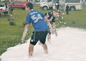 Despite the weather, approximately 70 people attend FCSS annual BBQ