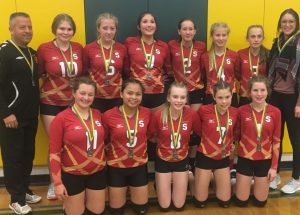 PIC – Glenmary girls win silver medals in Fairview