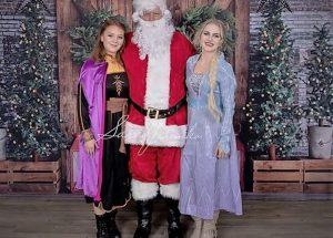 PIC – Santa meets celebrities