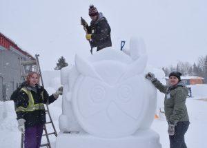 'Snow' perfect sculptures!