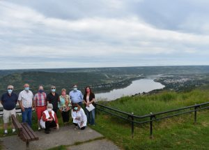 PIC – AUMA President visits Peace River July 28