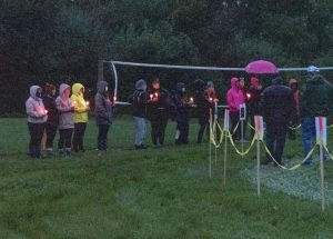 Grieving mother organizes sombre event