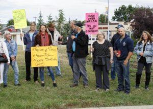 PICs – Rally for Freedom draws mild interest