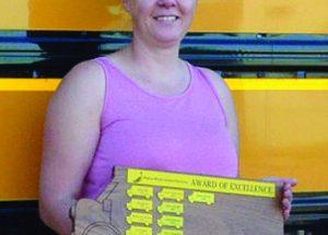 Hansen named top PRSD bus driver