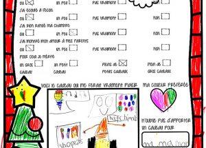 Letters to Santa – Maryse Simon – Grade 1 – Falher Ecole Heritagé School