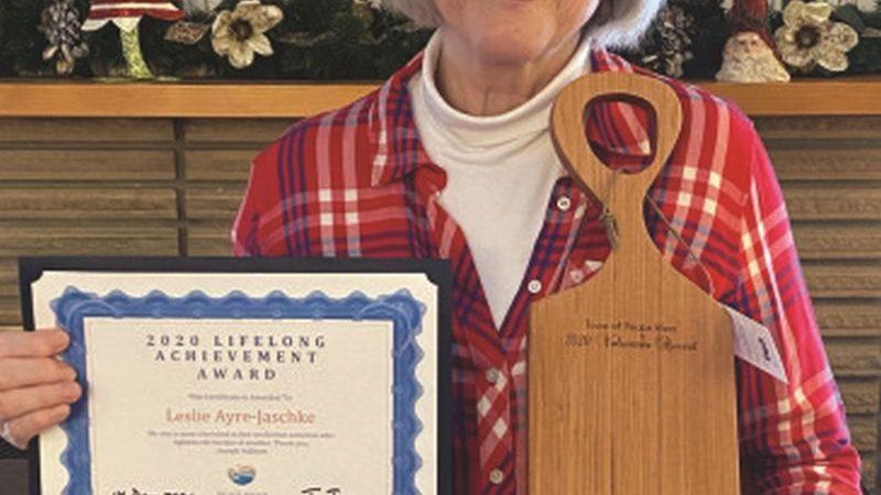 Ayre-Jaschke winner of Livelong Achievement Award