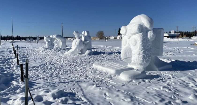 Dazzling sculptures highlight annual Carnaval