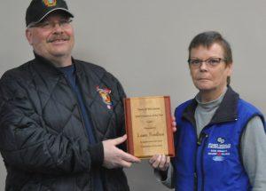 Rondeau wins McLennan volunteer award