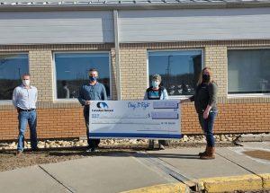 $25,000 donation for palliative care