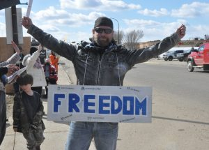 Time to end COVID lockdown, say freedom supporters