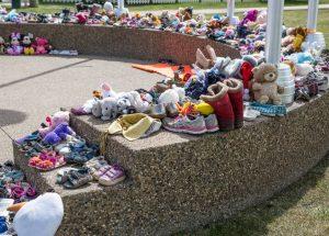 PICs – Peace River remembers children at Kamloops school